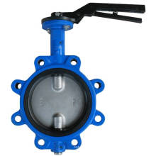 Lug Natural Rubber Butterfly Valve in hoher Leistung