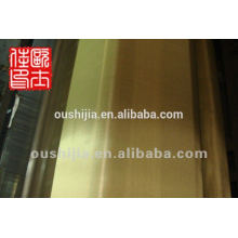 Fabrik liefern hochwertige Messing Draht Mesh Tuch & Phosphor Draht Mesh Tuch & Messing Kupfer Drahtgeflecht