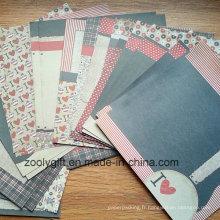 8 X 8 Bricolage Baby Printing Scrapbooking Paper Pack de 30