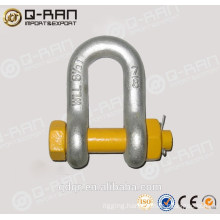 Galvanized Bolt Type Anchor Shackle G2150 D Shackle