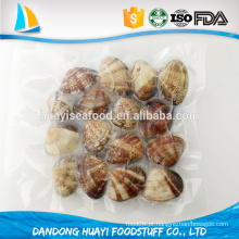 China congelados cozidos curto necked clam com casca IQF à venda