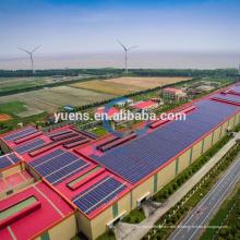 Système de montage photovoltaïque de racking de picovolte 2kw 3kw 5kw; supports de panneaux solaires pour toit incliné
