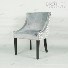 Wholesale modern dining room furniture velvet dining chair tufted