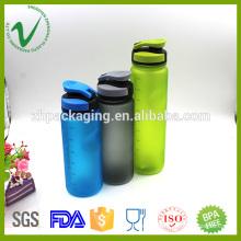 PCTG transparent reusable biodegradable water bottles 600ml