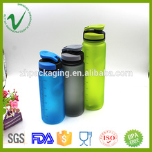 PCTG garrafas de água biodegradáveis reutilizáveis transparentes 600ml