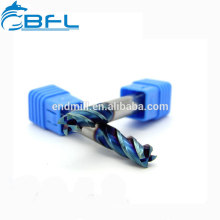 BFL Long Flute Types Square Endmill Tool/AlTiN Coated Extra Length Cutting Flat Endmill