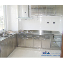 Pole Stainless Steel Kitchen Cabinet