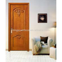 Conception de porte en bois, design en bois de porte, porte en bois massif pour maison