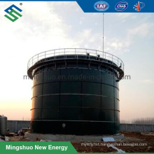 Enamel Steel Made Anaerobic Digestion Reactor for Biogas Plant