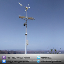 Sistema Híbrido Solar de Vento Acessível para CFTV