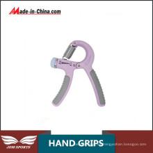 Ejercicio ajustable de los apretones de la mano del levantamiento de pesas gimnástico