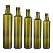 Factory Direct Top Quality Dark Green Cooking Olive Oil Empty Glass Bottle