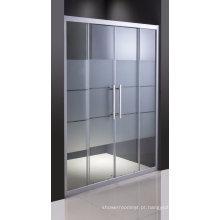 Tela de chuveiro de vidro de louças sanitárias