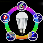 RGB Color and RGBW Color LED Bulb Lamp