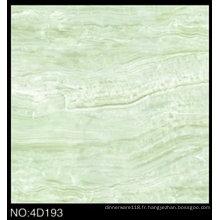 Carreaux de plancher vert poli par porcelaine polie par jet d'encre de Digital 3D