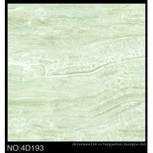 3D цифровой струйной застекленная Poliished фарфор зеленый напольная плитка