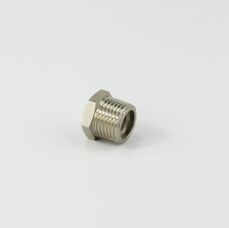 Air-Fluid Brass Hex Female BSP/BSP Nipple Adaptor