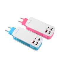 Chargeur mural USB multi-ports Travel Power Strip
