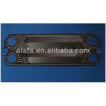 Vicarb V13 relacionadas con placa intercambiador de calor, ss304, 316, titanio
