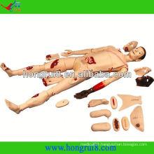 ISO Advanced medical nursing trauma manikin,Trauma first aid