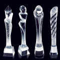 3D-graverade Crystal Ball Footall Champions Trophy Awards