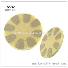Diamantfaser-Polierkissen aus Hochglanz-Marmor, Granitpolieren