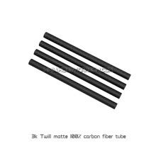 Tubes de fibre de carbone de plein prix du prix 3K ou tuyaux pour des drones