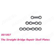 Minitype Bone Straight Bridge Repair of Skull Plates