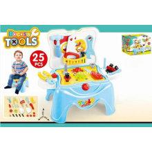 Hocker Spiel Set Spielzeug für 25PCS Werkzeuge