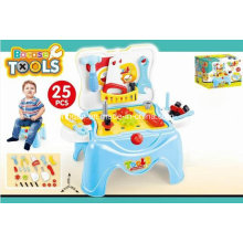 Stool Play Set Toy for 25PCS Tools