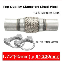 Stainless Steel Flex Pipes with Nipples for Car Exhaust