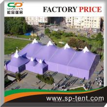High Top Outdoor Winter Veranstaltungen Party Zelte in gedruckter Farbe Messung 20m und 40m lang mit mehreren Pagode Zelte