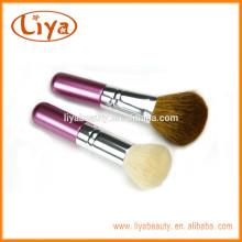 Лия высокой плотности порошок кисти для макияжа с козий волос дерева ручка
