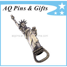 3D Bottle Opener with Statue of Liberty