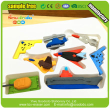 Kids Rubber Toy 3d erasers in a box