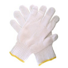 Cotton knitted working gloves