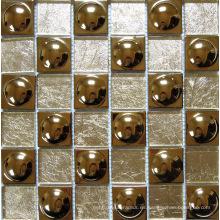 Mezcla de cristal de mosaico de metal (SM242)