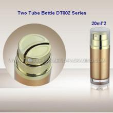 Botellas de prensa crema 40ml tubo doble
