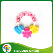 Baby Soft Silicone Teether Toys,Infant Teething Teethers
