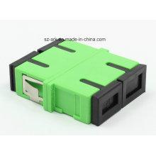 Sc / APC Duplex Optischer Adapter