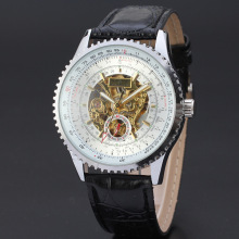 Leather 3Atm Water Resistant Luxury Customized Watch