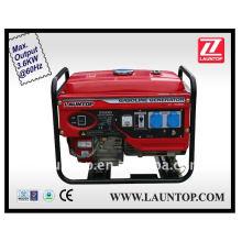 3kw gasolina conjunto gerador