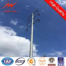 Pólo de serviço público de aço para a linha de transmissão elétrica 110kv