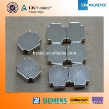 Personalizado forma N35-N52 Rare Earth ímã forte para a indústria