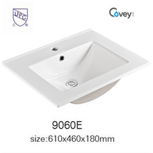 Sanitary Ware Bathroom Sink Wash Cabinet Ceramic Basin with Cupc (A-9060E)