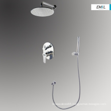 Bathroom wall mounted shower faucets mixer set
