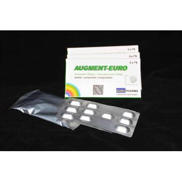 20 Years manufacturer for Macrolide Antibiotics Amoxicillin + Clavulanic Acid Tablet BP/USP export to Philippines Manufacturer