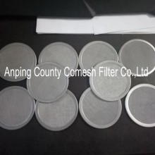 High Precision Stainless Steel Mesh Filter Disc