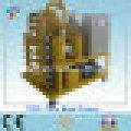 En el sitio totalmente automático de alto vacío transformador de purificador de aceite (ZYD-100)