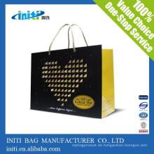China Großhandel billig Mode Flasche Kraft Papier Tasche
